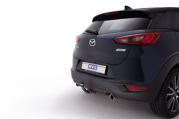 detachable towbar for mazda cx 3 towbar blog from mvg. Black Bedroom Furniture Sets. Home Design Ideas