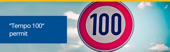 Tempo 100 permit