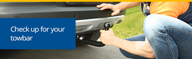 Check up towbar