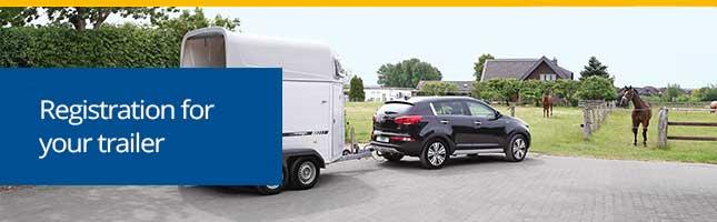 Registration of your trailer